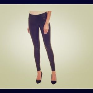 LAMARQUE High Waisted Leather Legging